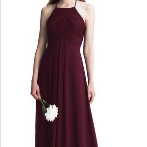 Bill Levkoff bridesmaid dress size 20 wine color